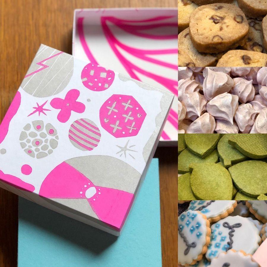 Cookie BOX〜雨粒の箱